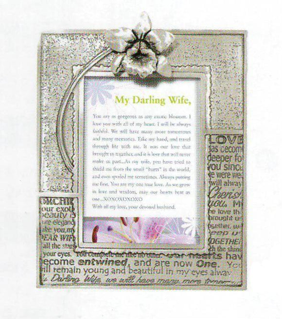 Wife/Orchid 2x3 Picture Frame PF-1339