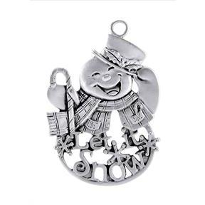 Let It Snow Snowman Ornament SC-584