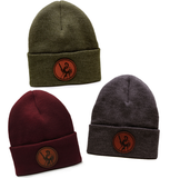 Henry Leather Patch Winter Cap