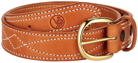 Henry Diamond D Leather Belt