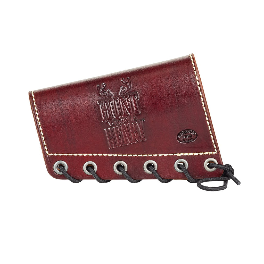 Henry Diamond D Leather Rifle Butt Cuff