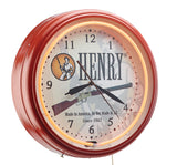 Henry Big Boy Clock