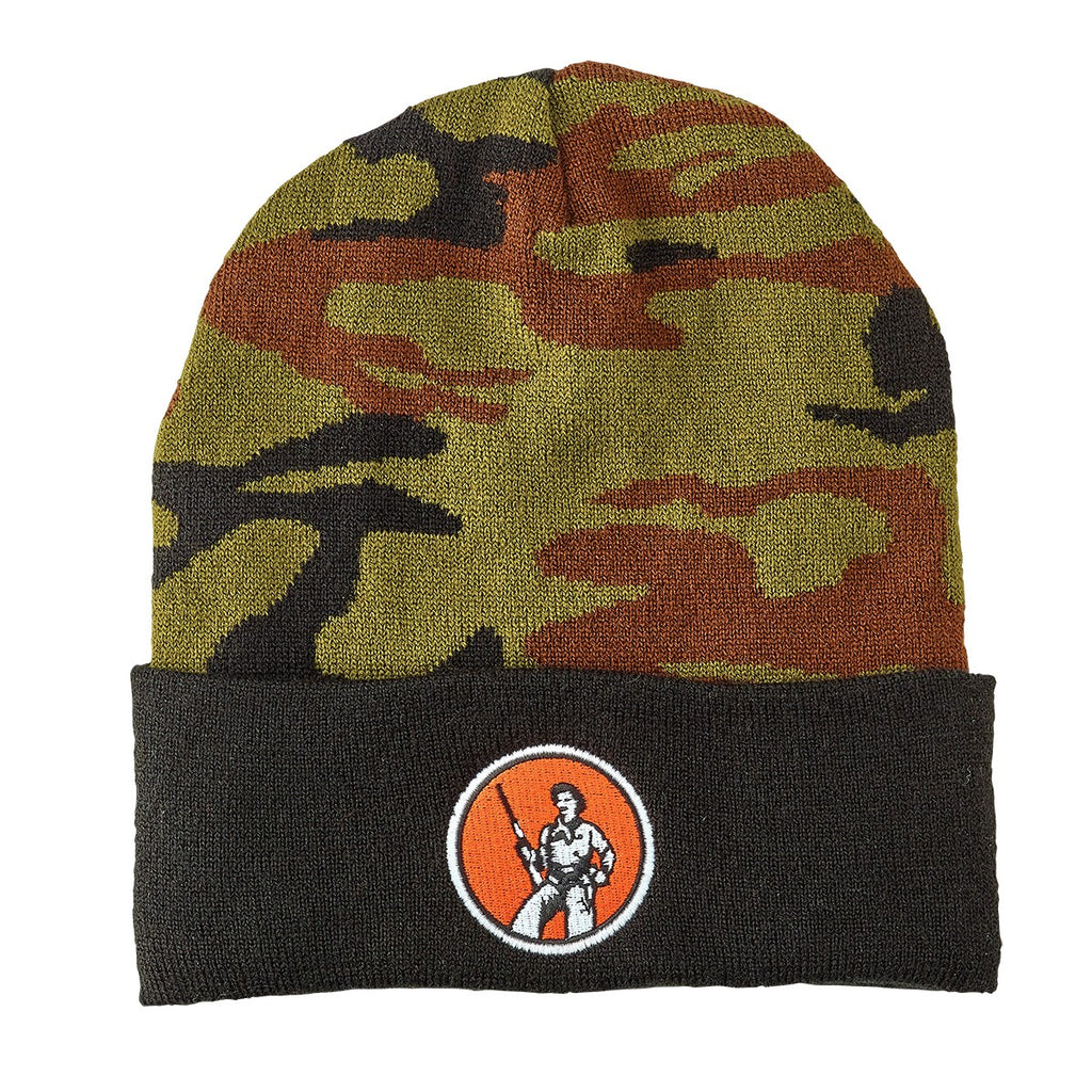 Henry Camo Knit Winter Cap