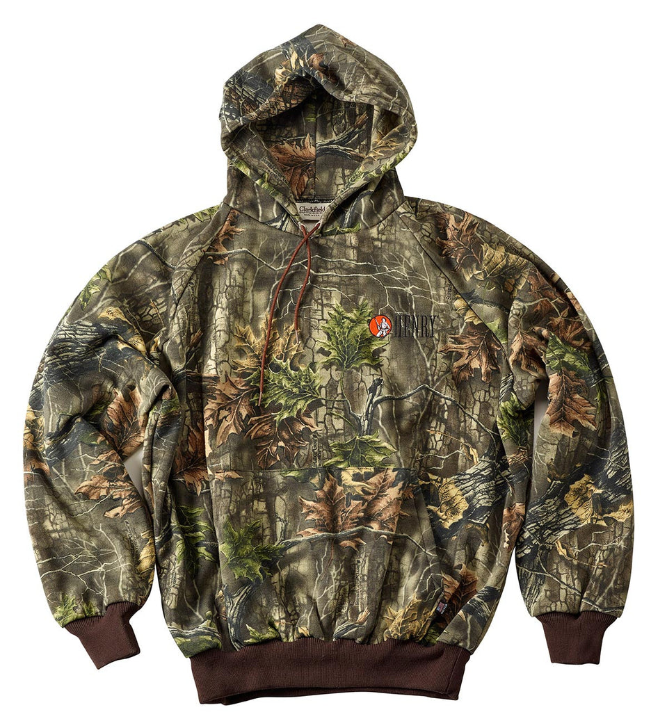 Henry Camo Pullover Hooded Sweatshirt