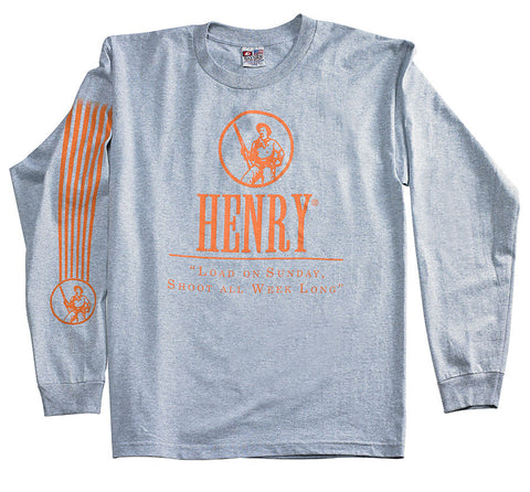 Henry Grey Long Sleeve T-Shirt
