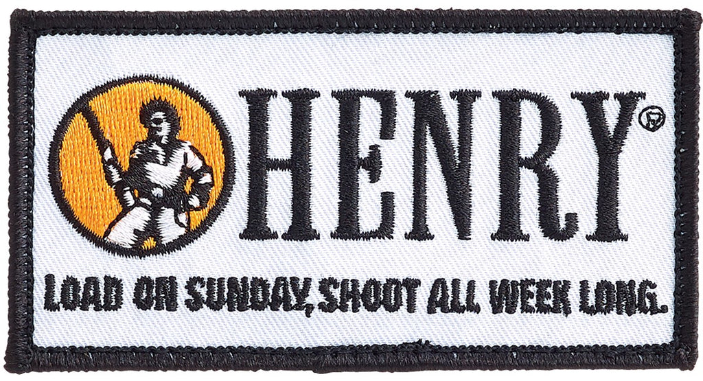 Henry Embroidered Patch