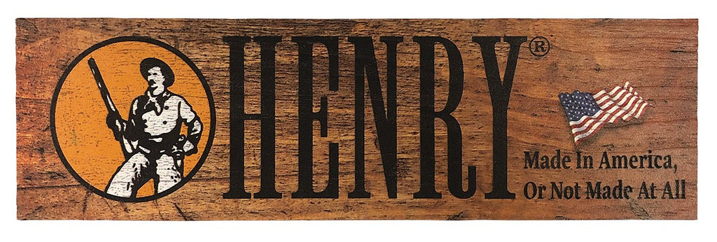 Henry Wooden Plaque
