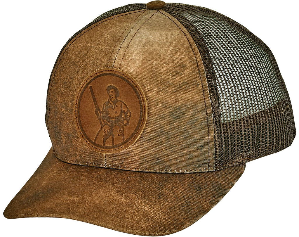 Henry Distressed Mesh Back Cap