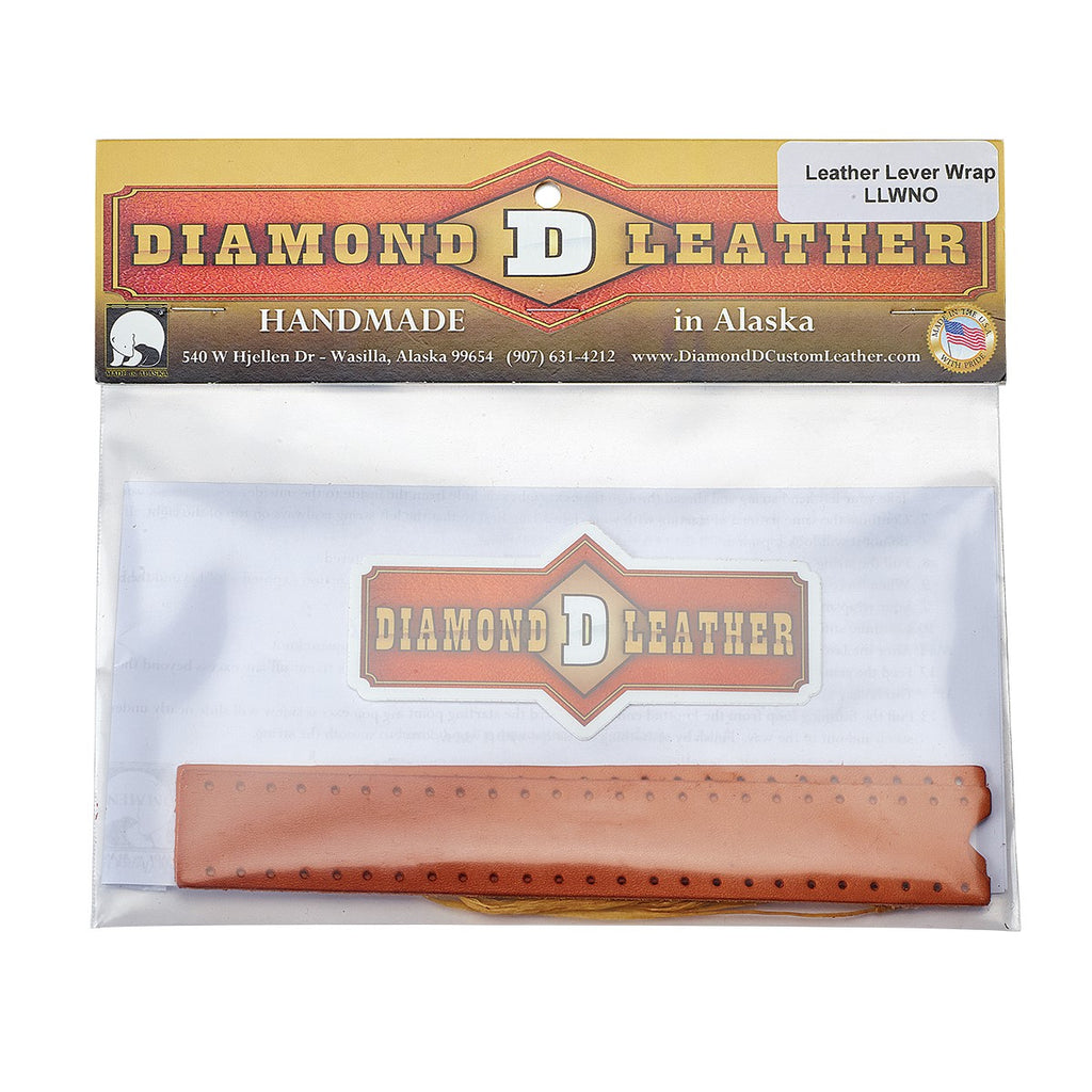 Diamond D Leather Lever Wrap