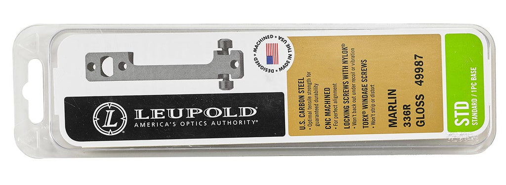 Leupold Standard Base for H009 (30/30) and H010 (45-70) ONLY