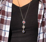 Triple Stacked Casing Necklaces