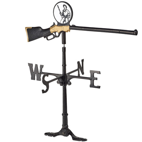 Henry Rifle Weathervane