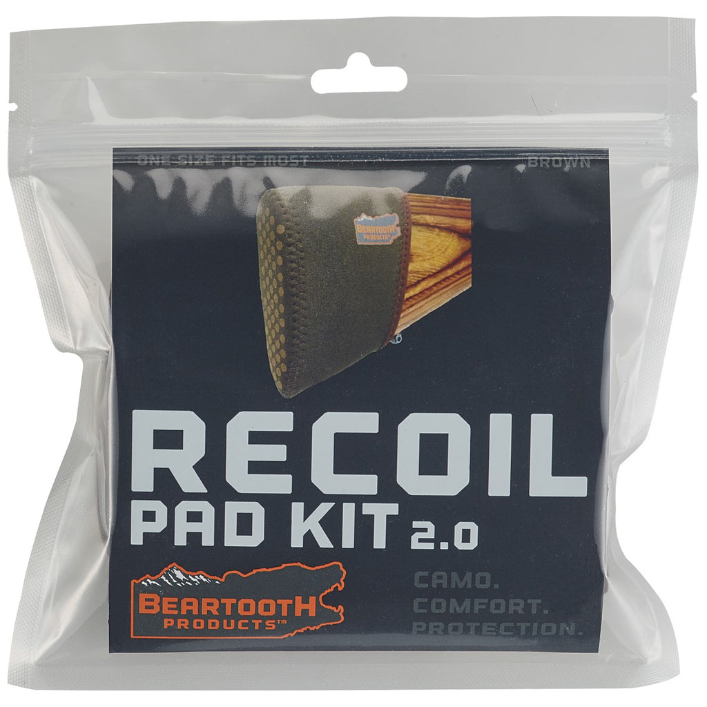 Beartooth Universal Recoil Pad Kit (Brown)