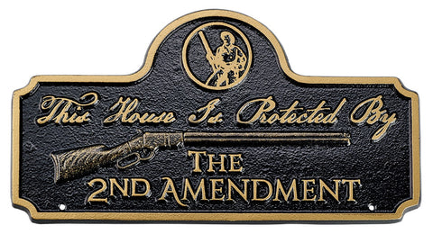 Henry 2nd Amendment Plaque (Lawn or Wall mount)