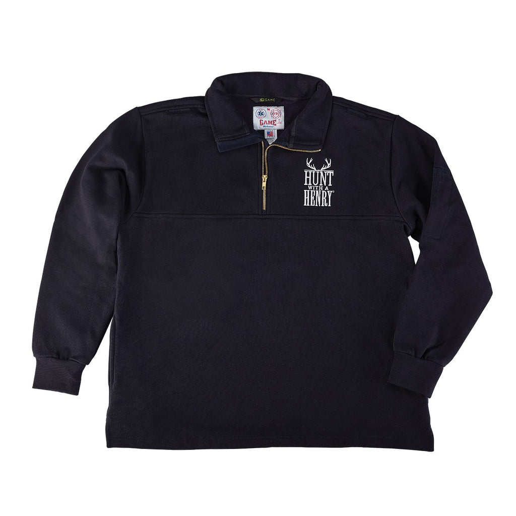 Hunt With A Henry Master Fleece Zip