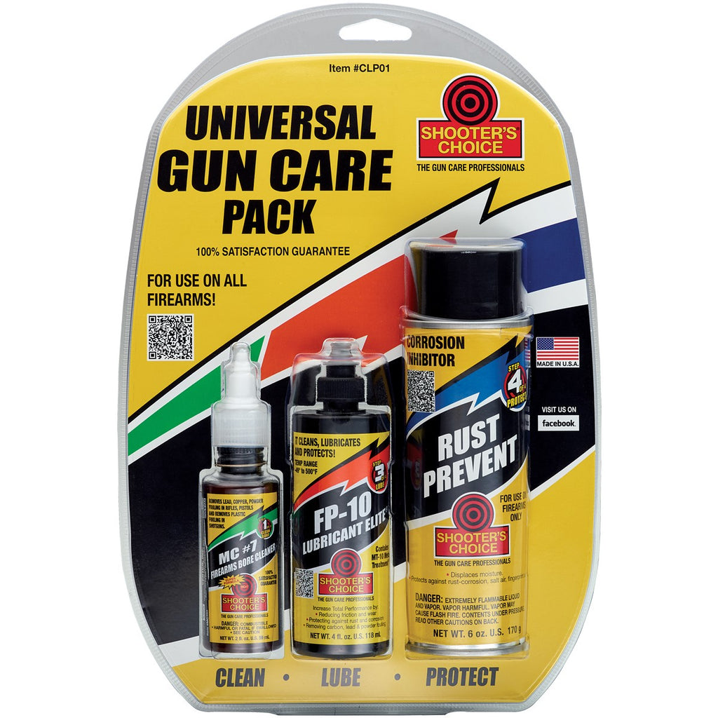 Shooters Choice Universal Gun Care 3 Pack