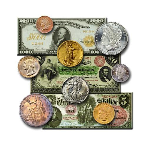 Ready-Set-Collect Coin, Currency and Bullion Supplies. Coin Tubes, Flips, Capsules, Storage Boxes, Display Cases, Coin Cleaners and Handling Equipment. Archival Storage and Preservation. Numismatist