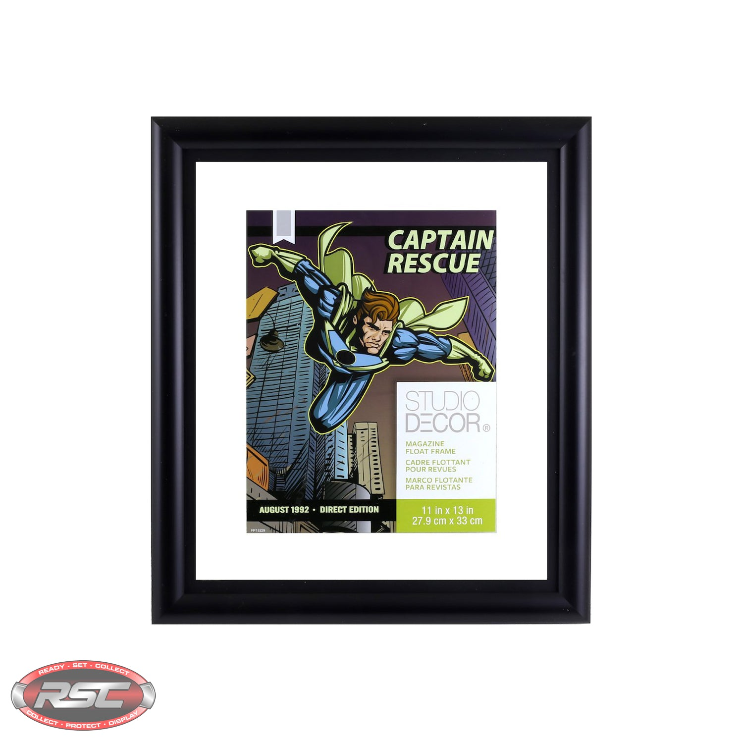 COMIC BOOK / MAGAZINE FLOAT FRAME by Studio Decor (11\