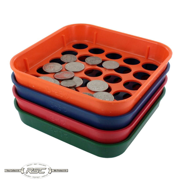 Speed Sort - Coin Sorting Trays