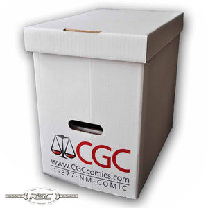 Official CGC Graded Magazine Storage Box (Case of 5)