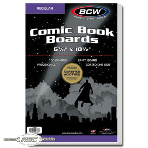 Regular Size Comic Book Backing Boards