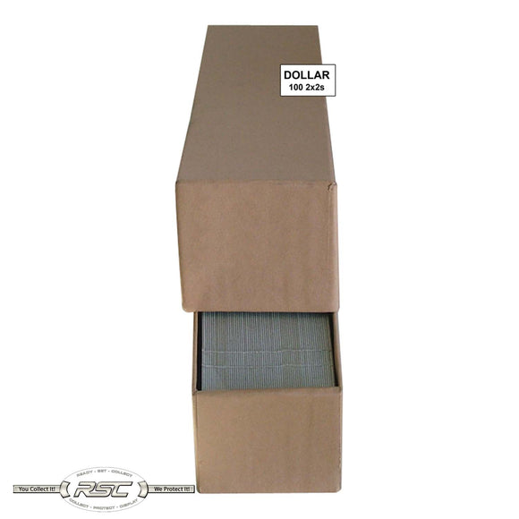 2x2 Paper Flips and Tan Storage Box for Large Dollars