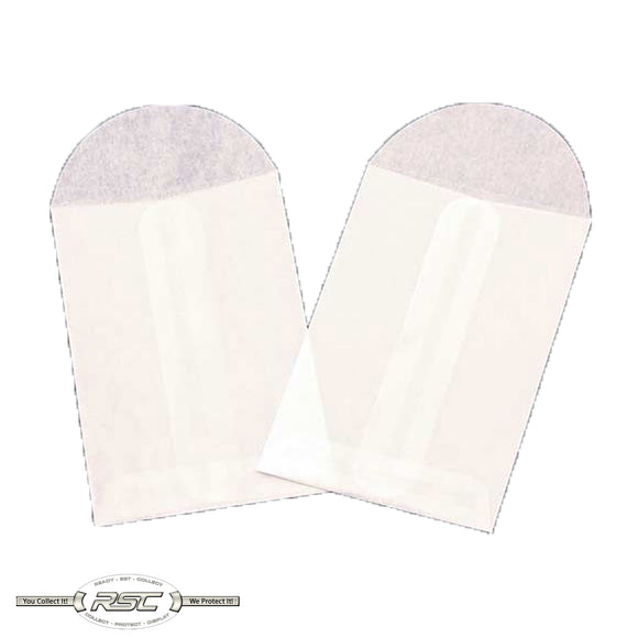 #1 Glassine Coin Envelopes - Pack of 100