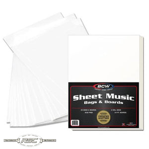 Premade Sheet Music Bag & Board Set
