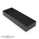Double Row Deluxe 2x2 Coin Storage Box (Black) 15""