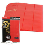 18-Pocket Pro Pages - Red