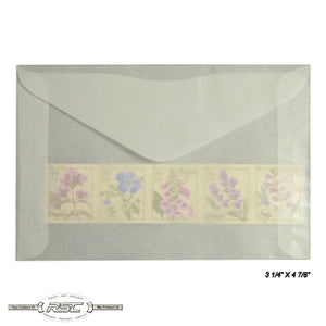 #4 Glassine Envelopes - Pack of 100