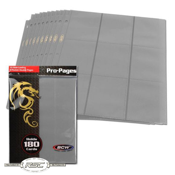 18-Pocket Pro Pages - Gray