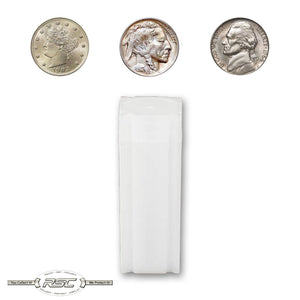 Nickel Coin Tubes - Case of 100