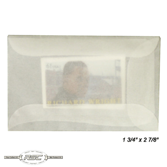 #1 Glassine Envelopes - Pack of 50