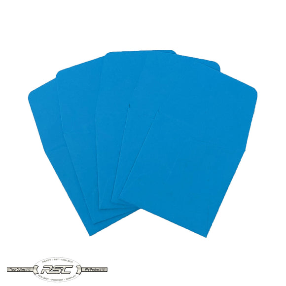 Light Blue Archival Paper Coin Envelopes - Pack of 50