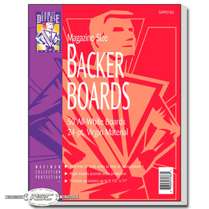 Magazine 24pt Backer Boards