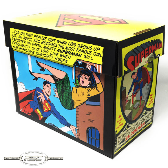 Superman Short Comic Box - Case of 5