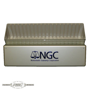 Official NGC 20-Slab Plastic Storage Box