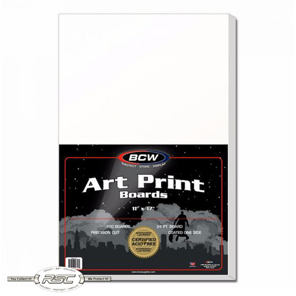 Art Print Backing Boards