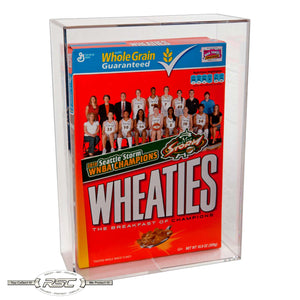 Cereal Box Display Case