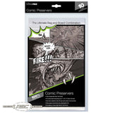 Comic Preserver - Ultra Clear Bag & 24pt. Board Combo - Pack of 10
