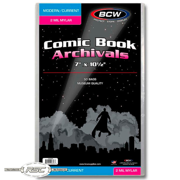 Archivals Modern / Current 2-Mil Mylar Comic Bags