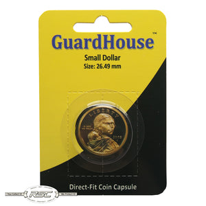 Direct-Fit Coin Capsule for Small Dollar
