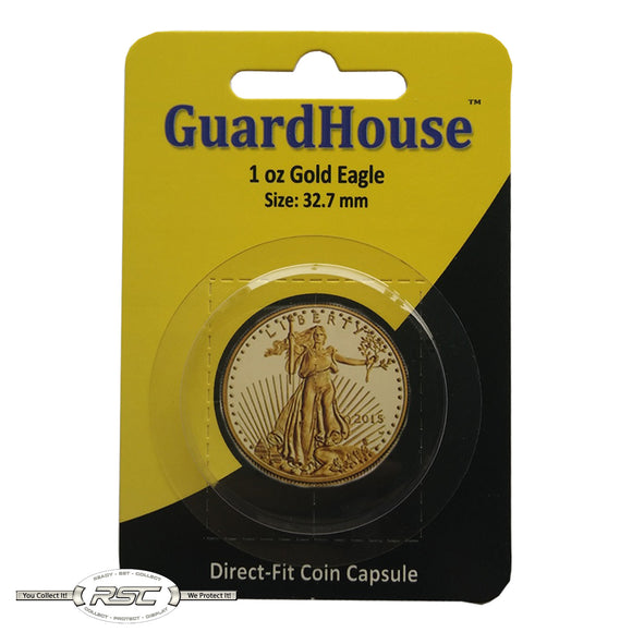 Direct-Fit Coin Capsule for 1-Oz American Gold Eagle