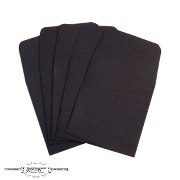 Dark Blue Archival Paper Coin Envelopes - Pack of 50