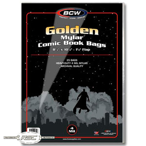 Archivals Golden Age 4-Mil Mylar Comic Bags
