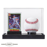 Baseball Photo Display Case w/Black Base