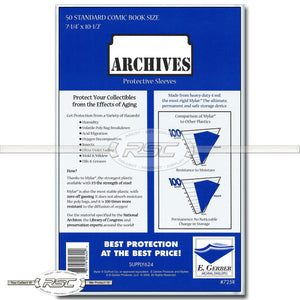 Archives Standard 4-Mil Mylar Sleeves