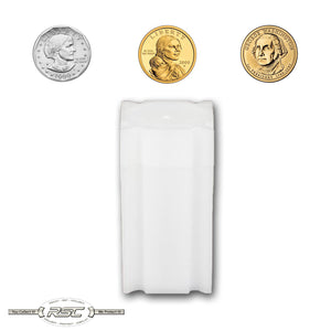 Small Dollar Coin Tubes - Case of 100