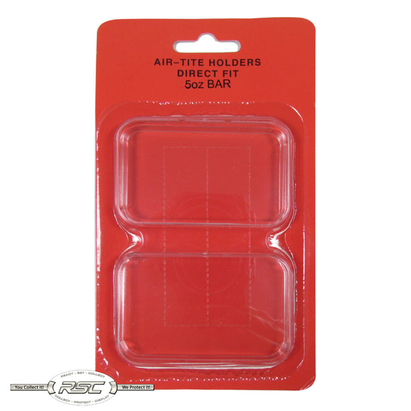 Direct Fit Holder for 5-Oz Silver Bar